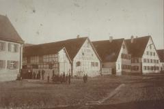 Dorfmitte Anfang des 20. Jahrhunderts