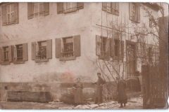 Anfang des 20. Jahrhunderts war das Gebäude noch bewohnt