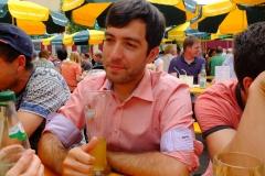 Webmaster beim Bier
