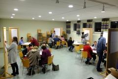Auswertung der Zettel in Gruppen