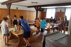 Backen mit den Kindern beim Ferienprogramm