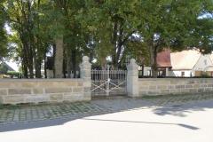 Das Friedhofsportal nach der Renovierung