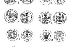 Teil des Münzfunds von 1898 (aus von Bürkel 1900)
