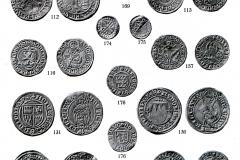 Teil des Münzfunds von 1927 (aus Bernhart 1928)