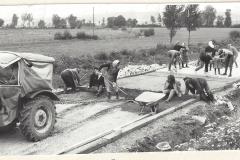 Gemeinsame Straßenbauarbeiten im Rahmen der Flurbereinigung