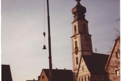 Abnahme der Kirchenglocken zur Restaurierung 1993